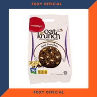 Biskuit Gandum Oat Krunch Dark Chocolate - Biscuit Oat Diet Snack 416g