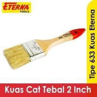 Kuas Cat Tembok Dinding 2 inchi inch Eterna Type 633 Bulu Tebal
