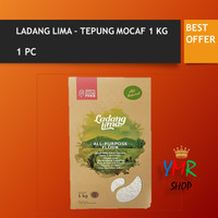 Ladang lima gluten free cassava / tepung singkong / Mocav / mocaf 1kg