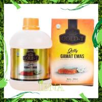 Obat Perawatan Kulit Aman dan Alami Jelly Gamat Emas Gold T Original