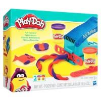 PlayDoh Fun Factory Noodle Press Cetakan Dough Play-Doh Original