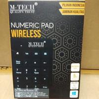 Keyboard Numerik Numeric Wireless Mtech 2,4Ghz