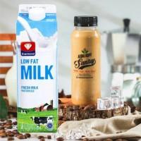 Kopi Susu LOW FAT Gula aren - 250 ml, Rendah Lemak dan Rendah Kalori