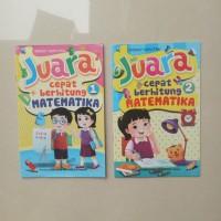 Buku Anak TK SD kelas 1 Juara Cepat Berhitung Matematika