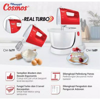 stand mixer COSMOS CM 1689 - real turbo - pengaduk telur dan adonan