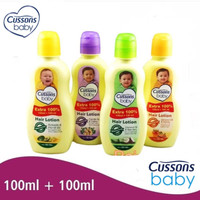 Cussons Baby Hair Lotion 100+100ml / Cusson Hair Lotion Bayi / MY MOM
