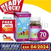 Wellness Gummy Kids Children Multivitamin 70 Gummies
