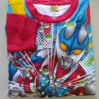 Baju Setelan Anak Laki Set Motif Kartun Karakter Pahlawan U Man 16