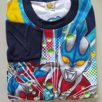 Baju Setelan Anak Laki Set Motif Kartun Karakter Pahlawan U Man 18