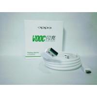 Kabel Data Oppo VOOC Micro USB Original 99.9 persen Putih