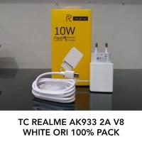 Travel Charger REALME AK933 2A 10W Micro USB Original White