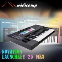 Keyboard Midi Controller Novation Launchkey 25 MK3