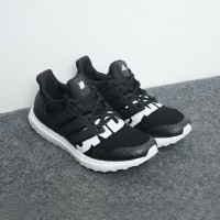 ADIDAS ULTRA BOOST X UNDEFEATED - BLACK WHITE