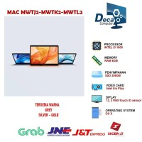 Apple MacBook Air MWTJ2 Touch ID 2020 13.3 256GB Core i3 RAM 8GB