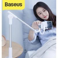 Baseus Lazy Pod Unlimitid Adjustment Lazy Phone Holder Stand Handphone - Abu-abu