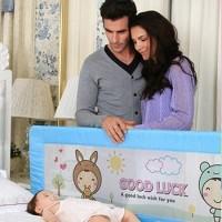 PROMO Baby Bedrail uk. 180*64 cm - Merah Muda