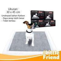 Alas Pipis Pee Poop Perlak Underpad Karbon Pet Toilet Anjing Kucing