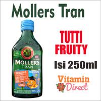 Mollers Tran Tutti Frutti 250 ml ( Original )