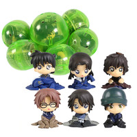 Detective Conan Gashapon Action Figure Set 6