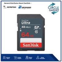 Sandisk SDHC Ultra 64GB 48MB/s   Memory Kamera SD Card 64 GB Class 10