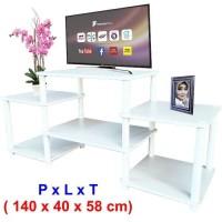 Rak TV ( AVR-4060 ) Putih, Rak TV Minimalis, Meja TV