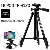 Tripod TF-3120 Black Edition - Tripod Kamera 3120 Free Holder U