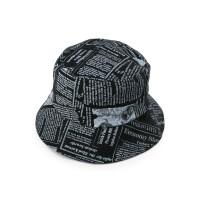 Urban State - Newspaper Bucket Hat - Black