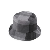 Urban State - Plaid Bucket Hat - Black