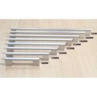 Tarikan Laci Huben TPA 12 128 mm Handle Lemari Alumunium Kotak