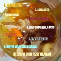 Paket Peach Gum Collagen Dessert untuk 8 porsi