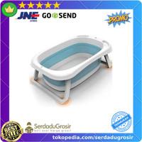 Tempat Bak Mandi Bayi Lipat Foldable Kolam Bayi Baby Bathtub 82x50 cm
