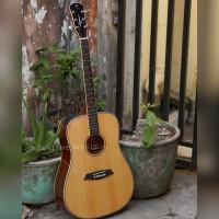 Gitar Akustik Elektrik Dame Lilies 200 solid