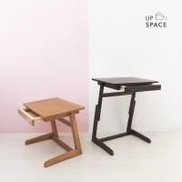 Scott Sofa Table / Side Table / Meja Sofa /Meja Lesehan / Meja Laptop
