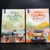 Paket Novel WHY SECRETARY KIM 1 & 2 - Jeong Gyeong Yun