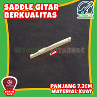Saddle Bridge Gitar String Akustik Senar Standard