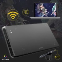 XP-Pen Star 05 Wireless Graphics Drawing Pen Tablet with Passive Pen