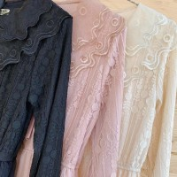 Baju wanita atasan kebaya bahan brukat tulle import ada pilihan warna