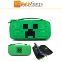 Case Tas Nintendo Switch Minecraft Creeper Green Hijau 10