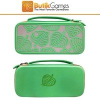 Tas Case Storage Bag Nintendo Switch Animal Crossing Green Hijau 03