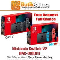 Nintendo Switch V2 New Model HAC 001 01 CFW 400GB Full Game
