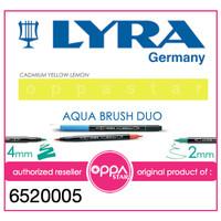 Lyra Aqua Brush Duo Pen Lemon Cadmium Yellow # 6520005