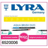 Brush Pen Lyra Aqua Brush Duo Pen Chrome Yellow Light 6520006