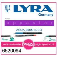 Brush Pen Lyra Aqua Brush Duo Pen Purple 6520094