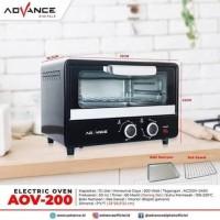 Advance Oven Listrik 12 Liter AOV-200