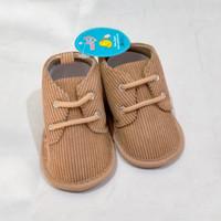 Sepatu Prewalker Bayi Cowok 0-11 bulan KODE 897,899 - 897 coklat 11cm