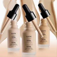 NYX TOTAL DROP FOUNDATION 05-06-07-09-10