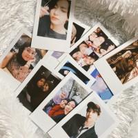 Jasa Print Foto Ala Polaroid (Frame Putih)