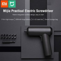Xiaomi Mijia Electric Screwdriver - Bor Portable 12 x S2 Steel 3.6V