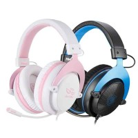 HEADSET GAMING SADES M-POWER SA-723 (BLUE/PINK)