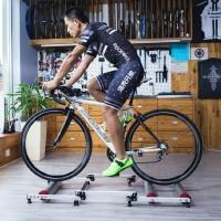 Murah Rockbros Bike Trainer Sepeda Lipat MTB Road Bike Silent Roller